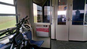 Fahrradmitnahme in der DB von SPO nach Husum und umgekehrt