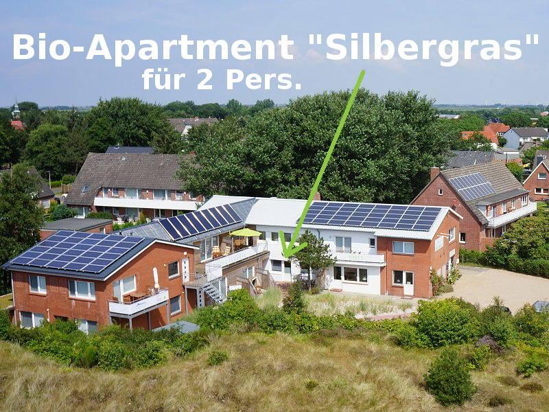 Bio-Apartment Silbergras in St. Peter-Ording
