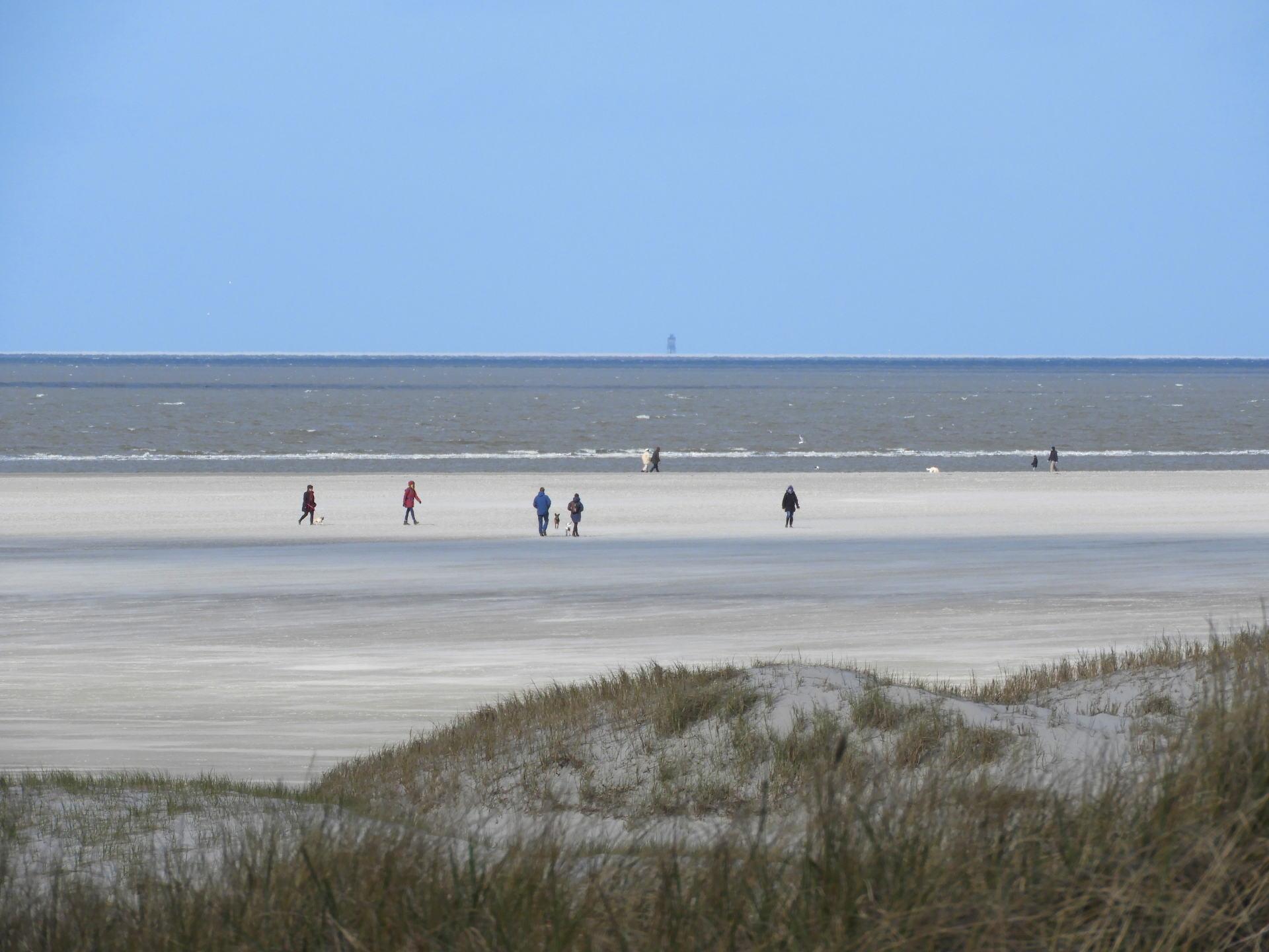 Ordinger Strand im Fruehjahr